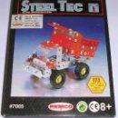 Juegos construcción - Meccano: STEEL TEC * BIZAK * REMCO . Nº 7005 CAMION VOLQUETE. 173 PIEZAS. NUEVO!!!. Lote 25205237