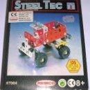 Juegos construcción - Meccano: STEEL TEC * BIZAK * REMCO . Nº 7004 CAMION . 135 PIEZAS. NUEVO!!!. Lote 25205231