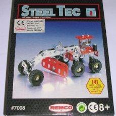 Juegos construcción - Meccano: STEEL TEC * BIZAK * REMCO . Nº 7008 VEHICULO REPARACION DE CARRETERAS. 141 PIEZAS. NUEVO!!!. Lote 25205219