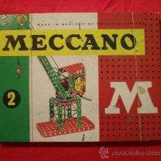 Juegos construcción - Meccano: MECCANO ANTIGUO AÑOS 50'S COMPLETO.. Lote 42116377
