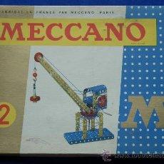 Juegos construcción - Meccano: MECCANO 2 FRANCIA 1968 COMPLETO, ESTUCHE Y MANUAL MECANO. Lote 12320138