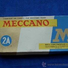 Juegos construcción - Meccano: MECCANO 2A FRANCIA 1969 COMPLETO, ESTUCHE MECANO. Lote 12320139