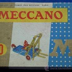 Juegos construcción - Meccano: MECCANO 0 FRANCIA 1971 COMPLETO, ESTUCHE Y MANUAL MECANO. Lote 12320140