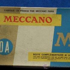 Juegos construcción - Meccano: MECCANO 0A FRANCIA 1969 COMPLETO, ESTUCHE Y MANUAL MECANO. Lote 12320141