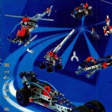Juegos construcción - Meccano: MECCANO : MOTION SYSTEM REF. 6520. 20 MODELOS CON 261 PIEZAS. MOTOR. Lote 27254797