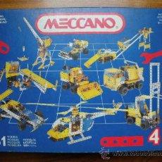 Juegos construcción - Meccano: MECCANO 4 - JUEGO MECANO. Lote 108832179