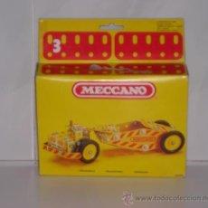 Juegos construcción - Meccano: MECCANO Nº 3 ANTIGUO NIVELADORA ROAD GRADER REF: 086204 - ARTICULO NUEVO. Lote 26869964