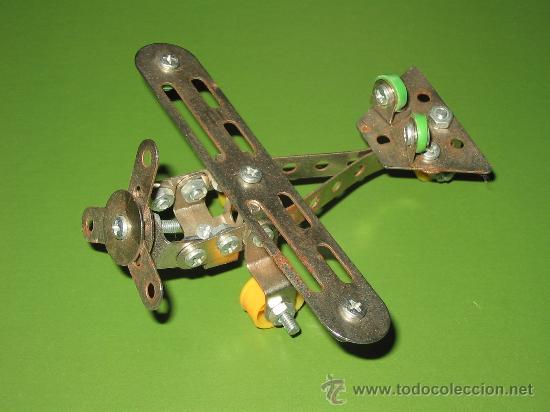 Juegos construcción - Meccano: Avión Meccano o similar. - Foto 2 - 26386263