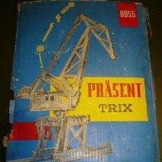 Juegos construcción - Meccano: TRIX PRÄSENT 8955 - JUEGO DE CONSTRUCCIONES METALICAS AÑO 1965. Lote 25635144
