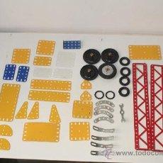 Juegos construcción - Meccano: MECANO FORMADO POR 46 PIEZAS.. Lote 182171481