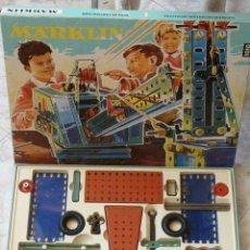 Juegos construcción - Meccano: JUEGO CONSTRUCCION MÄRKLIN METALLBAUKASTEN Nº 1010 - MADE IN WESTERN GERMANY AÑO 1967. Lote 27511003