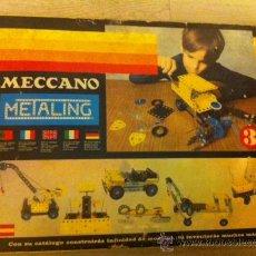 Juegos construcción - Meccano: MECANNO METALING POCH 3 DE 1977 COMPLETO CON INSTRUCCIONES !. Lote 29010637