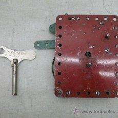 Juegos construcción - Meccano: MECANO METÁLICO FABRICADO EN ANGLETERRRE. Lote 32316155