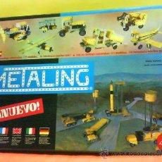 Juegos construcción - Meccano: METALING - JUEGO DE CONSTRUCCION - Nº 4 - SERIE ESPACIAL - FAB: POCH - PRECINTADO - VER FOTOS - 1970. Lote 32966364