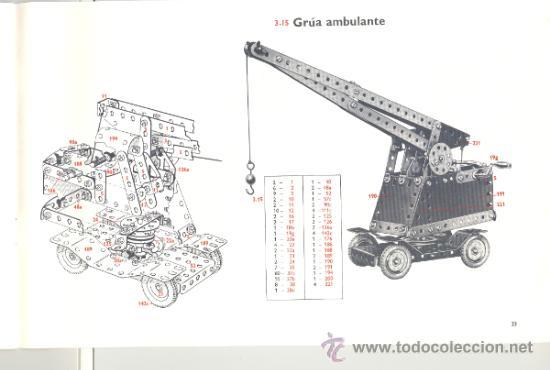 Juegos construcción - Meccano: LIBRO DE MODELOS PARA LOS EQUIPOS 4-5-6 DE MECCANO - Foto 3 - 34612013
