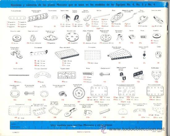 Juegos construcción - Meccano: LIBRO DE MODELOS PARA LOS EQUIPOS 4-5-6 DE MECCANO - Foto 4 - 34612013