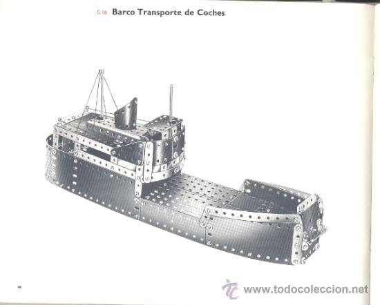 Juegos construcción - Meccano: LIBRO DE MODELOS PARA LOS EQUIPOS 4-5-6 DE MECCANO - Foto 2 - 34612013
