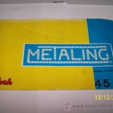 Juegos construcción - Meccano: CATALOGO METALING 4-5. Lote 34860668