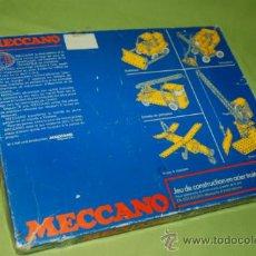 Juegos construcción - Meccano: MECCANO FRANCES AÑOS 70. Lote 36132350