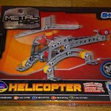Juegos construcción - Meccano: HELICOPTERO METAL MECH 78 PIEZAS COMPLETO PIEZAS COMO NUEVAS ALGUNAS SIN ABRIR DE METAL VER FOTOS. Lote 36278808