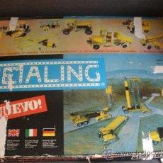 Juegos construcción - Meccano: ANTIGUO MECCANO - METALING 3 POCH ESPAÑA AÑOS 70 - CON CATÁLOGO -. Lote 38129749