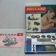Juegos construcción - Meccano: MECCANO-CAJA DE MONTAGE. Lote 39202187