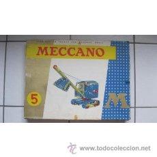Juegos construcción - Meccano: JUEGO MECCANO 5M. Lote 39569347