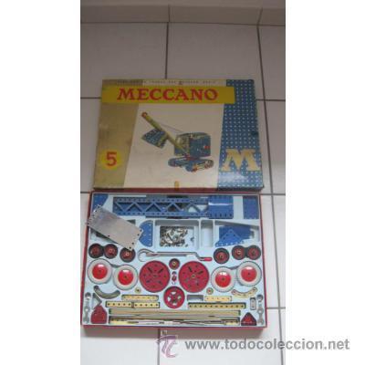 Juegos construcción - Meccano: JUEGO MECCANO 5M - Foto 2 - 39569347