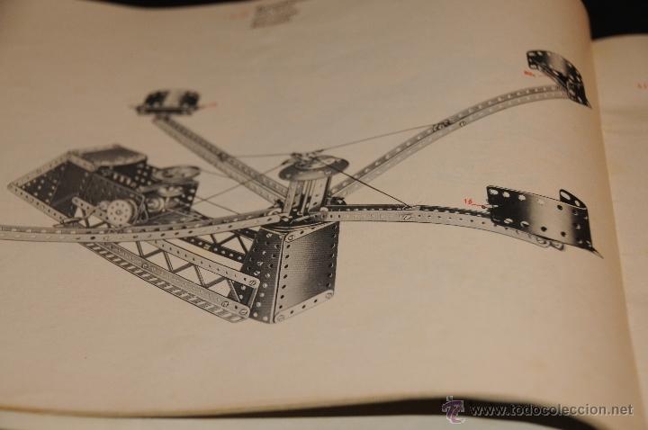Juegos construcción - Meccano: CATALOGO DE INSTRUCCIONES DE MONTAJE MECCANO 4/5/6 456/64 - Foto 5 - 40740701