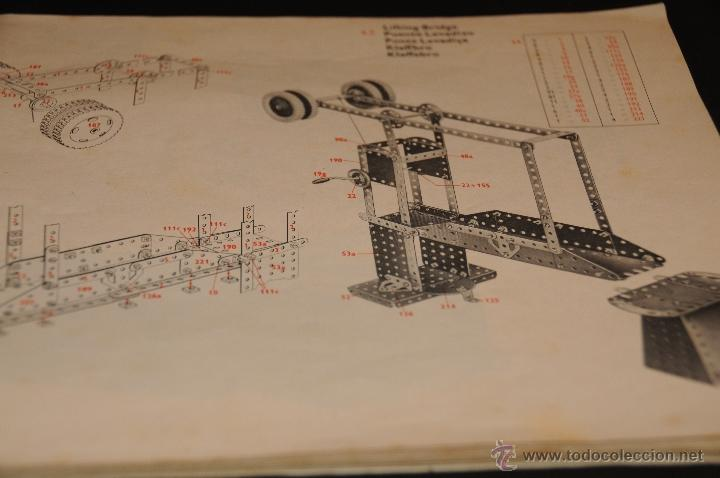 Juegos construcción - Meccano: CATALOGO DE INSTRUCCIONES DE MONTAJE MECCANO 4/5/6 456/64 - Foto 8 - 40740701