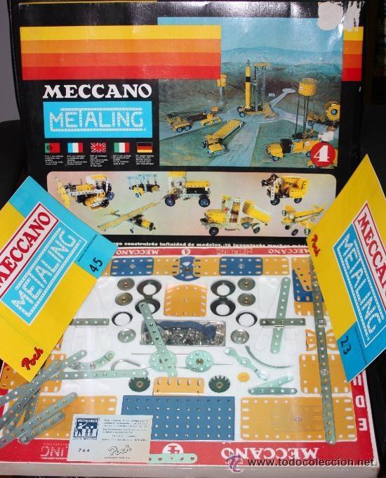MECCANO (METALING) Nº 4 DE 1970 :COMPLETO Y PRECINTADO (SIN USO). (Juguetes - Construcción - Meccano)