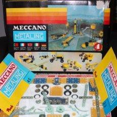Juegos construcción - Meccano: MECCANO (METALING) Nº 4 DE 1970 :COMPLETO Y PRECINTADO (SIN USO).. Lote 41640487