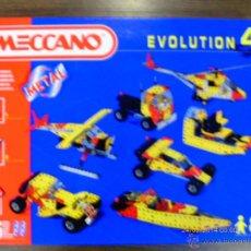 Juegos construcción - Meccano: MECCANO EVOLUTION 4 CON MOTOR.306 PIEZAS.AÑO 1995.NUEVO EN CAJA.. Lote 41819631
