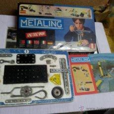 Juegos construcción - Meccano: JUEGO METALING 1, AÑO 1970 POCH, EN CAJA.. Lote 43614981
