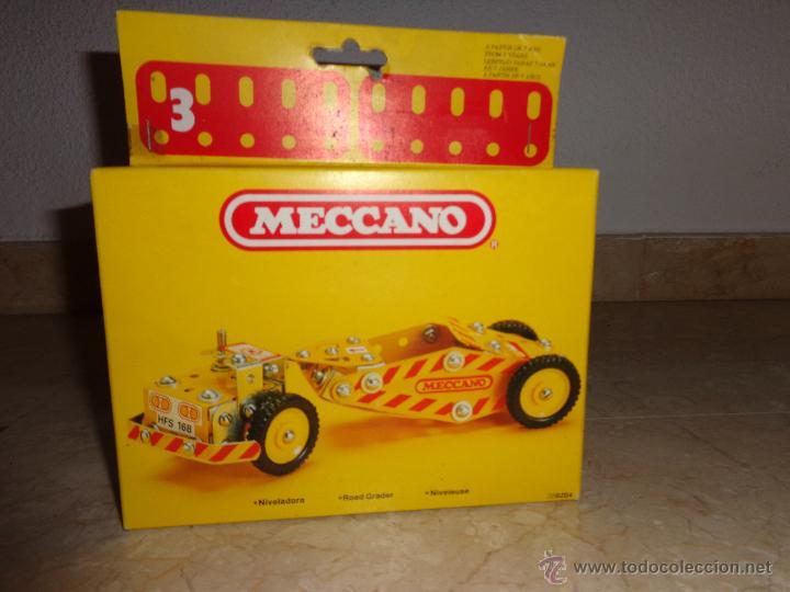 MECCANO - ANTIGUO MECCANO A ESTRENAR, NIVELADORA REF 086204, 111-1 (Juguetes - Construcción - Meccano)