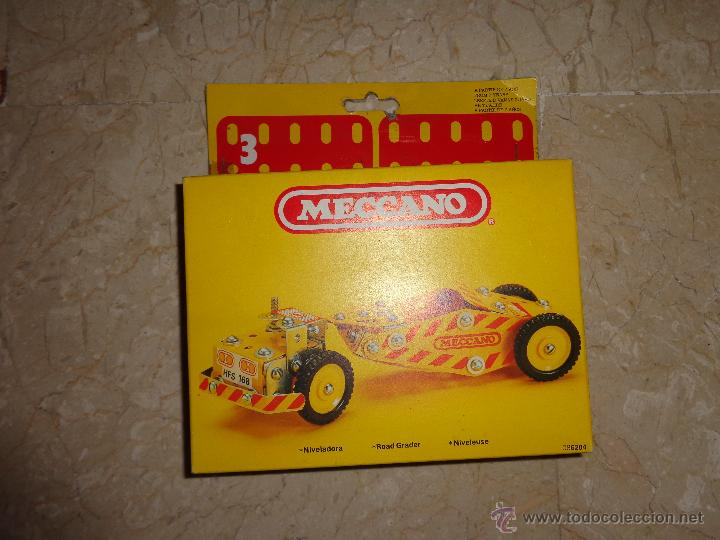 Juegos construcción - Meccano: MECCANO - ANTIGUO MECCANO A ESTRENAR, NIVELADORA REF 086204, 111-1 - Foto 4 - 43670670