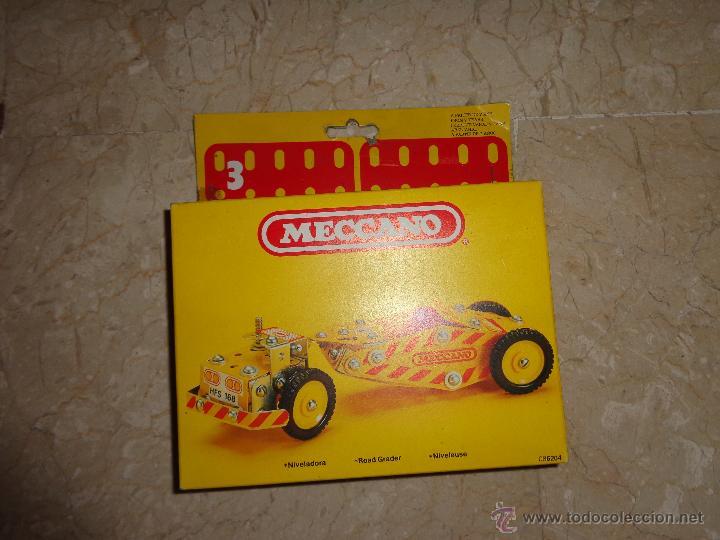 Juegos construcción - Meccano: MECCANO - ANTIGUO MECCANO A ESTRENAR, NIVELADORA REF 086204, 111-1 - Foto 5 - 43670670