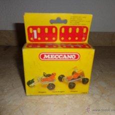 Juegos construcción - Meccano: MECCANO - ANTIGUO MECCANO A ESTRENAR, BUGGIES REF 086012, 111-1. Lote 43670693