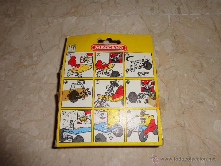 Juegos construcción - Meccano: MECCANO - ANTIGUO MECCANO A ESTRENAR, BUGGIES REF 086012, 111-1 - Foto 4 - 43670693