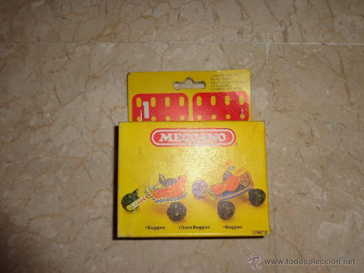 Juegos construcción - Meccano: MECCANO - ANTIGUO MECCANO A ESTRENAR, BUGGIES REF 086012, 111-1 - Foto 5 - 43670693