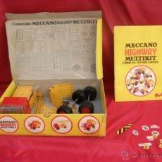 Juegos construcción - Meccano: JUEGO MECCANO MULTIKIT AÑOS 70. Lote 44375606