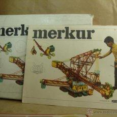 Spielzeug zum Bauen - Meccano - ANTIGUO JUEGO - MERKUR 4 + ¡¡ CATALOGO 45 PAGINAS ¡¡¡ MECCANO CHECO - MECANO - 45136559