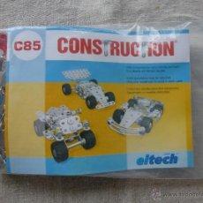 Juegos construcción - Meccano: EITECH -KIT CONSTRUCTION MODELO C85 - COCHE A MONTAR. Lote 45249518