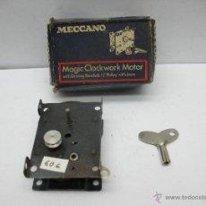 Juegos construcción - Meccano: MECCANO - ANTIGUA CUERDA NEGRA FABRICADA EN INGLATERRA. Lote 46555678