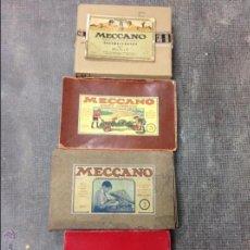 Juegos construcción - Meccano: MECCANO CONJUNTO DE PIEZAS. Lote 46671077