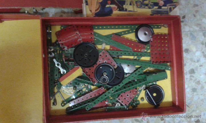 Juegos construcción - Meccano: INTERESANTE EQUIPO MECCANO. Muchas piezas + instrucciones - Foto 2 - 47832014