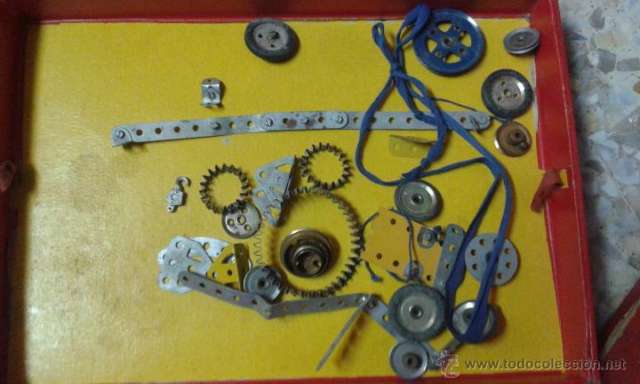 Juegos construcción - Meccano: INTERESANTE EQUIPO MECCANO. Muchas piezas + instrucciones - Foto 3 - 47832014