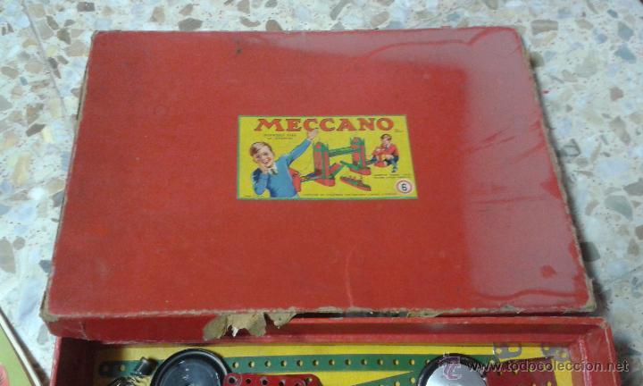 Juegos construcción - Meccano: INTERESANTE EQUIPO MECCANO. Muchas piezas + instrucciones - Foto 4 - 47832014
