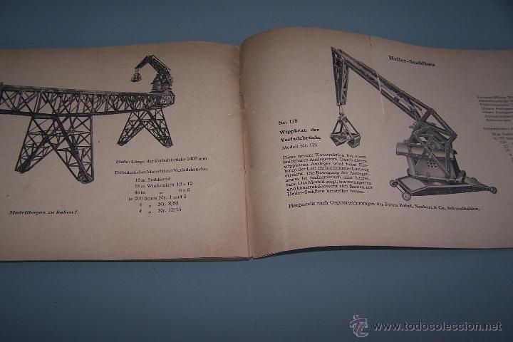 Juegos construcción - Meccano: CATÁLOGO MUY ANTIGUO DE JUEGO MECANO EN ALEMÁN. - Foto 4 - 48509741