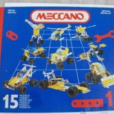 Juegos construcción - Meccano: MECCANO 1 AÑOS 90 CAJA COMPLETA. Lote 48759961